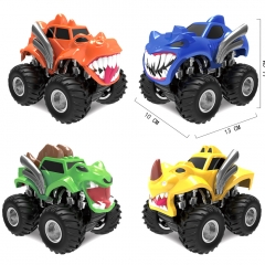 儿童回力车玩具 四驱动惯性怪物越野车儿童惯性玩具车模型