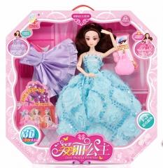 儿童玩具芭比娃娃系列 9关节实身芭芘爱丽公主